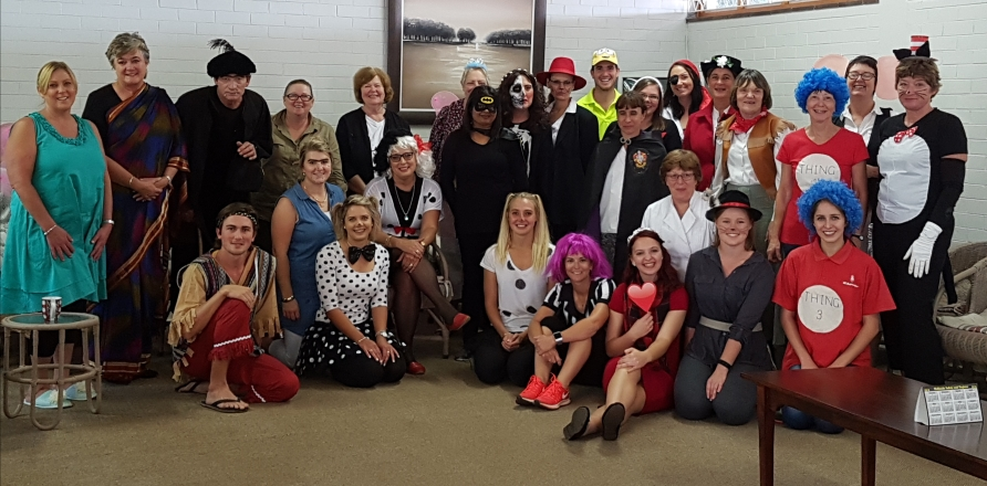 Staff World Book Day Howick