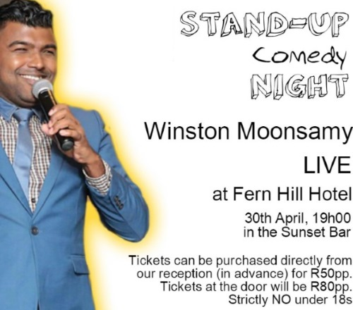 Stand Up Comedy Night Fern Hill Hotel news