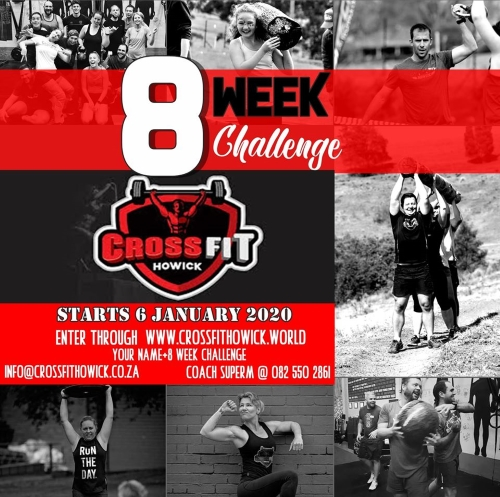 crossfit howick january challenge