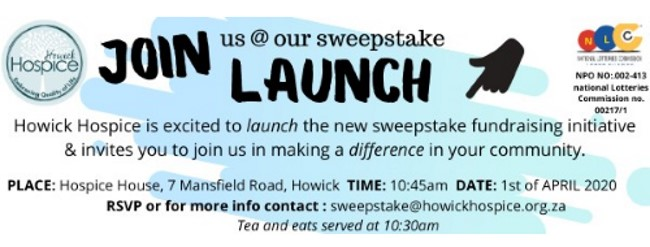 Hospice sweepstakes launch 1