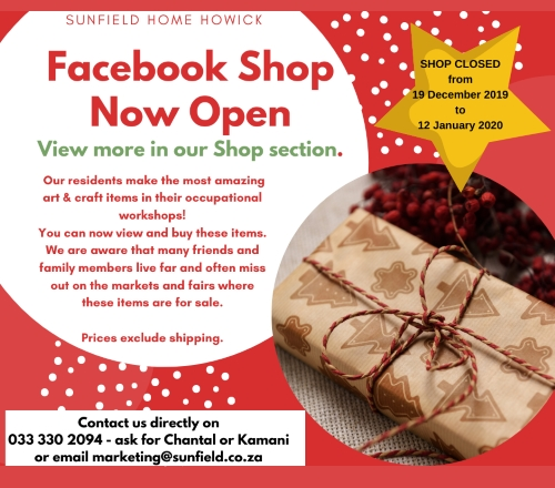 sunfield FB page shops