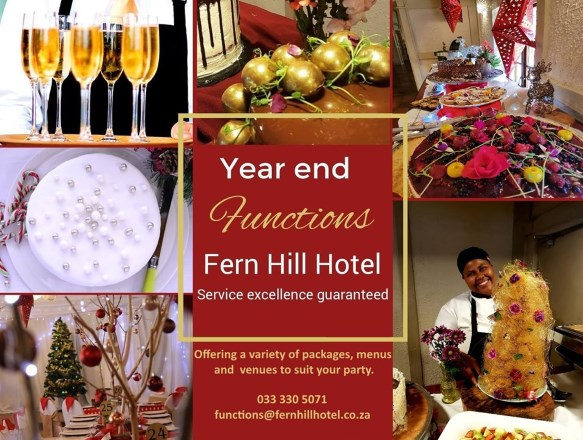 Year end functions at fern hill
