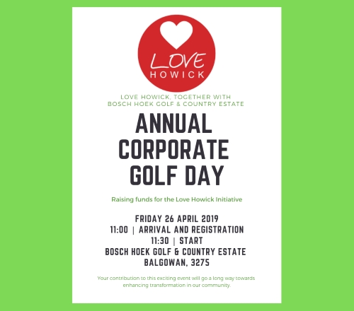 love howick annual corporate gold day