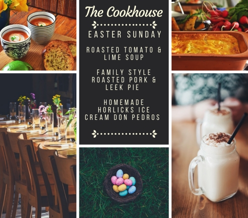 the cookhouse Easter